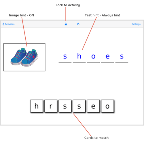 Special Spelling - text hint iOS