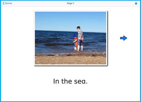 Creating Special Stories at the beach during the summer holidays